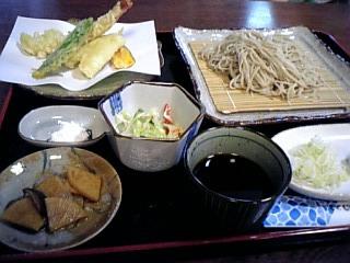 善三郎の美味しいお蕎麦。
